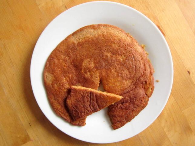 Omlet kasztanowo-marchewkowy
