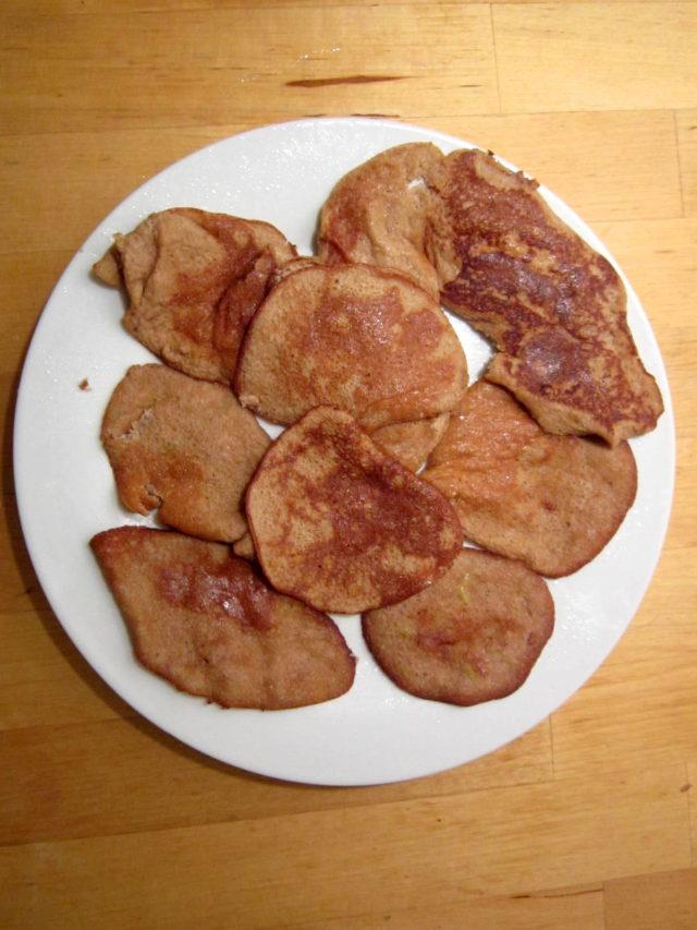 Omlet - placuszki z jabłkiem
